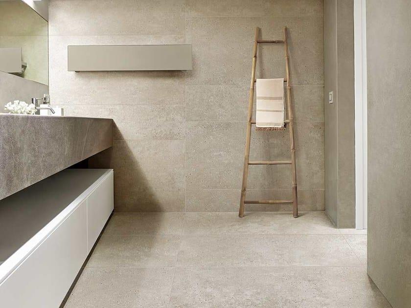 Revestimiento de pared/suelo de gres porcelánico efecto piedra MATERIAL STONES by CERIM