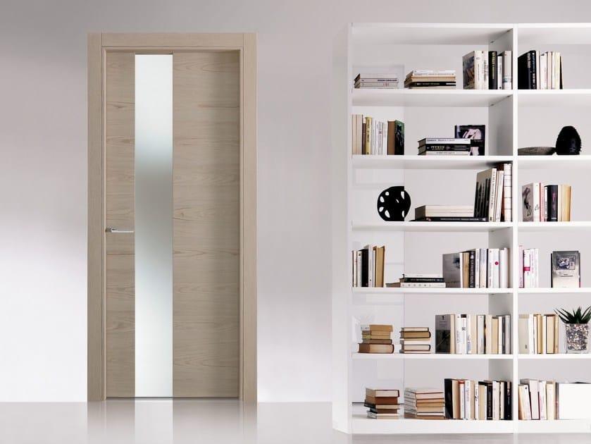 MATERIK | Wood and glass door Materik Collection By Bertolotto Porte