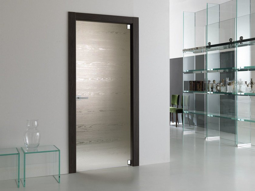 Porta a battente in vetro MATERIK | Porta in vetro - Bertolotto Porte