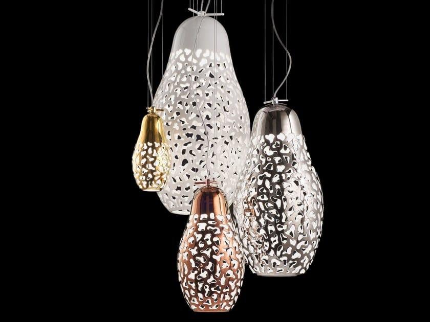 Direct light pendant lamp MATRIOSKA by Aldo Bernardi
