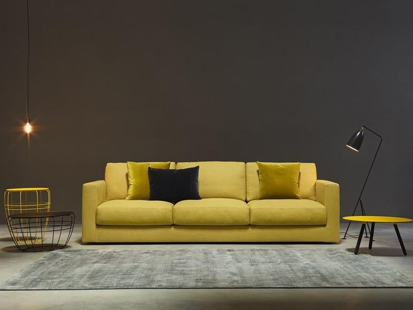 3 seater fabric sofa MATRIX | 3 seater sofa by Metraform