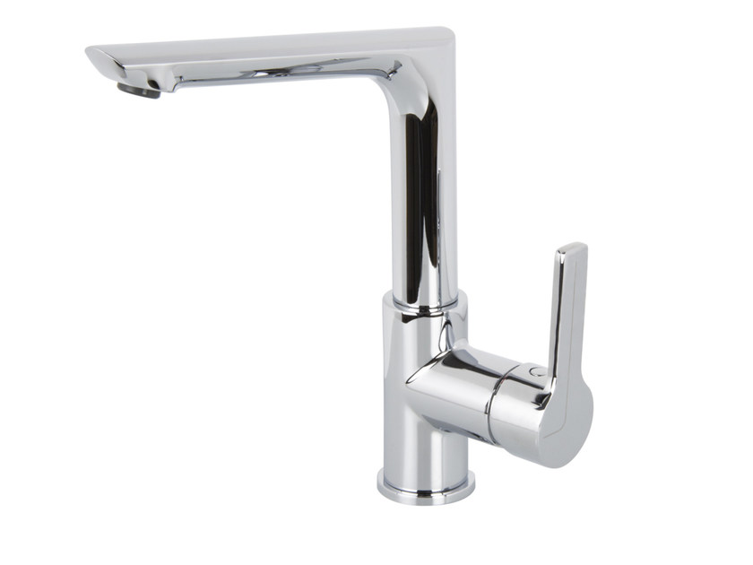 Countertop 1 hole washbasin mixer MATRIX F3581FN | Washbasin mixer by FIMA Carlo Frattini