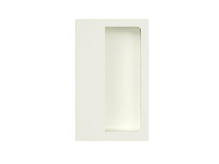 Recessed polyamide door handle MATT | Recessed door handle by HEWI