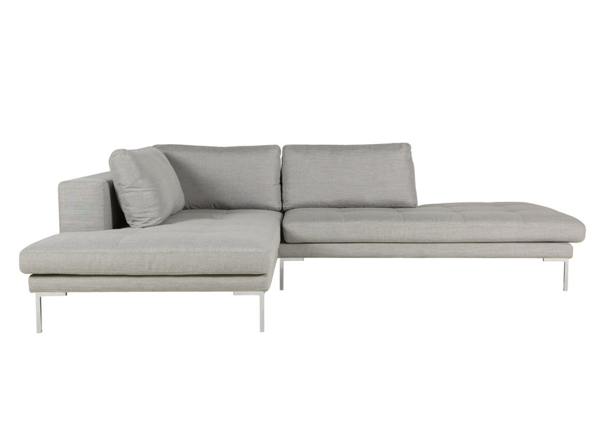 5 seater sectional fabric sofa with chaise longue MATTIAS | 5 seater sofa by SITS