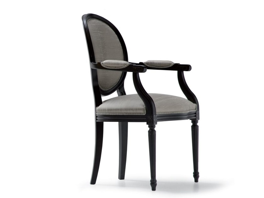 Fabric chair with armrests MAURICE | Chair with armrests by OPERA CONTEMPORARY