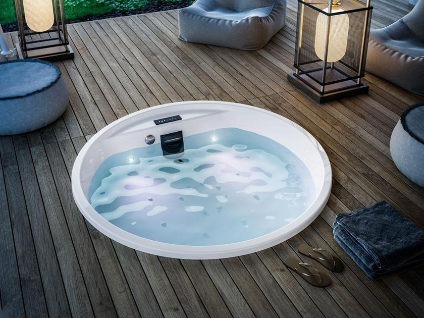 MAWI SPA 166 | Built-in hot tub
