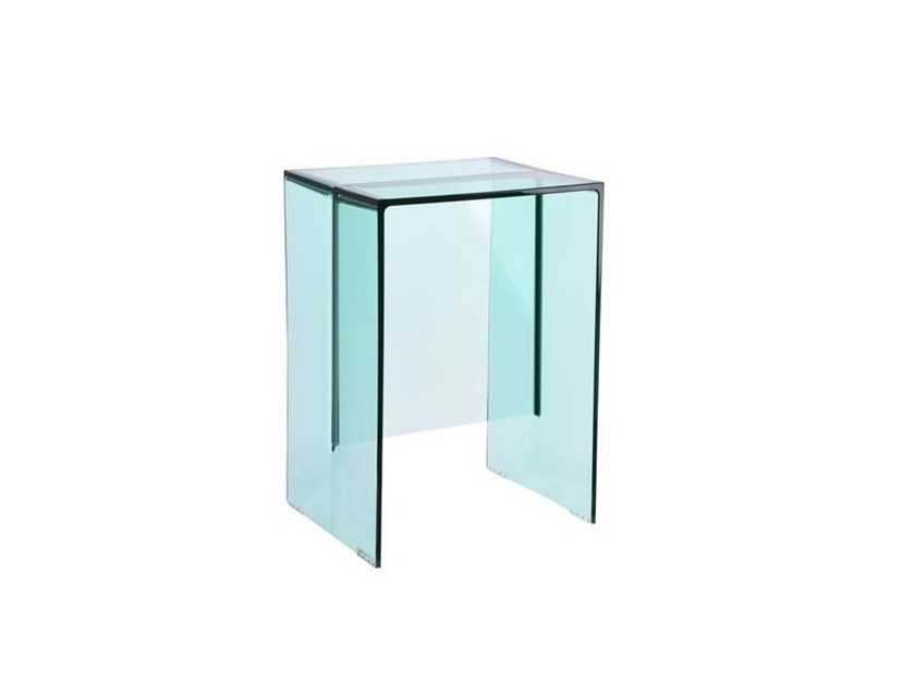 Kartell Tavoli Da Esterno.Sgabello Tavolino Kartell Max Beam Aquamarine By Archiproducts Com