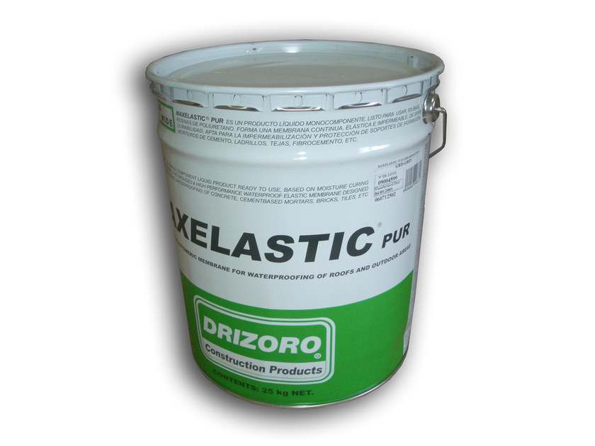 Liquid waterproofing membrane MAXELASTIC® PUR by Drizoro Italia