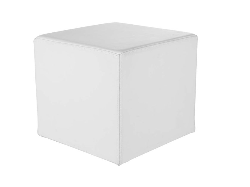Upholstered square pouf MINI - MAXI | Pouf by Trevisan Asolo