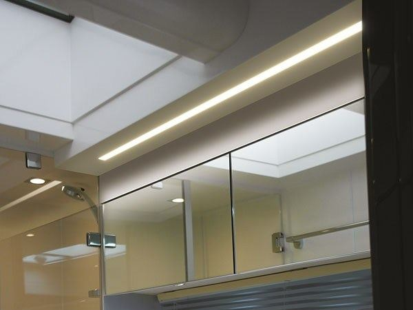 Ceiling mounted Linear lighting profile MAXIBAR by Quicklighting
