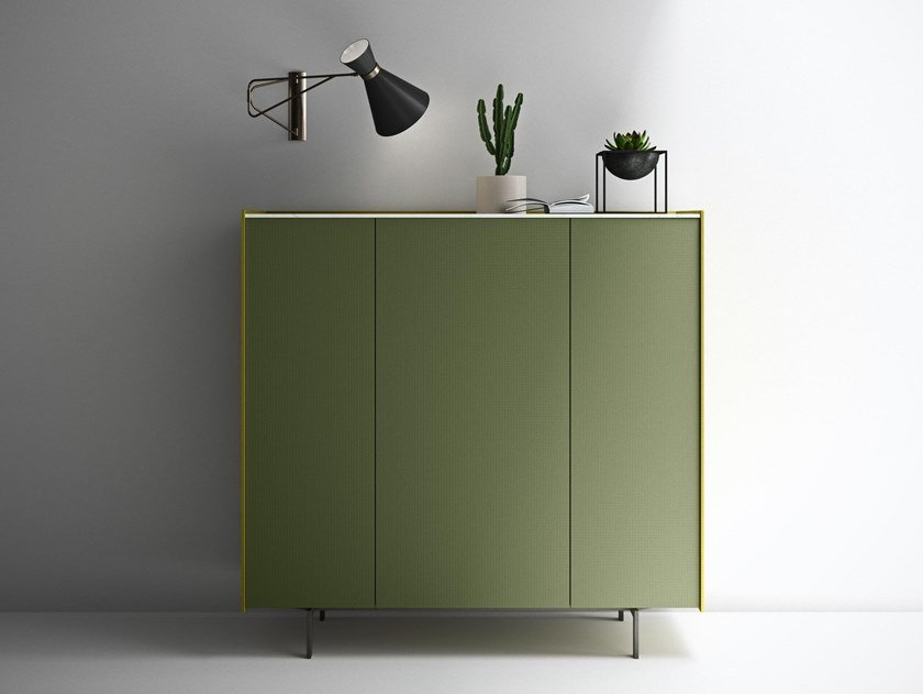 Lacquered wooden highboard MAXIMA 08 by Md House