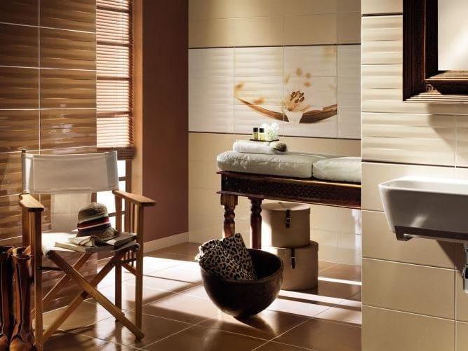 Indoor wall/floor tiles MAXIMA BEIGE & BROWN by tubadzin