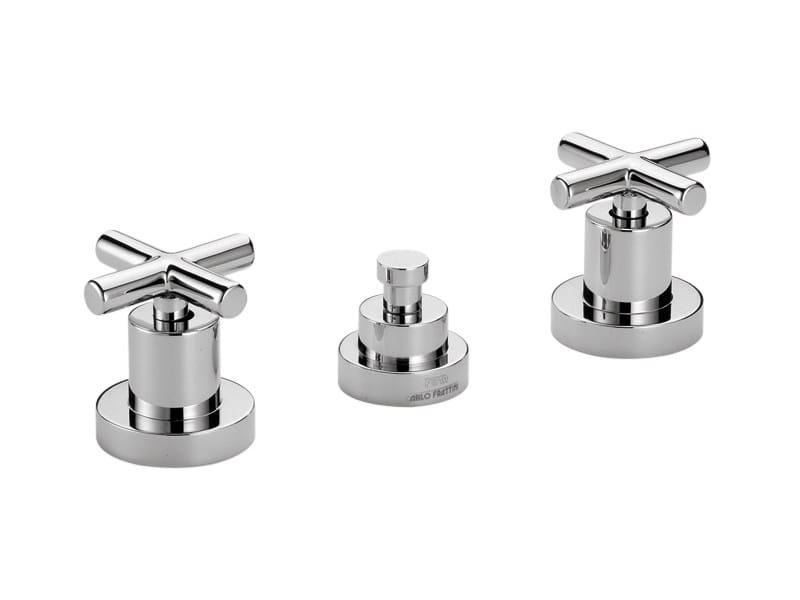 3 hole countertop bidet tap MAXIMA F5322 | Bidet tap by FIMA Carlo Frattini