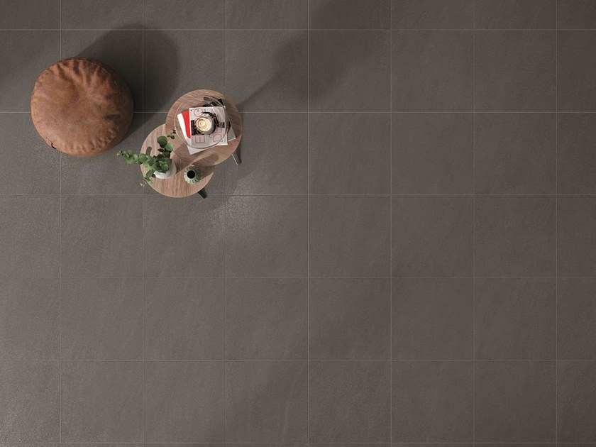 Porcelain stoneware wall/floor tiles with stone effect MAXIMA GRAPHITE by NOVOCERAM