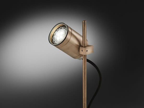 Proiettore per esterno a LED orientabile in metallo MAXIMA GU by BEL-LIGHTING