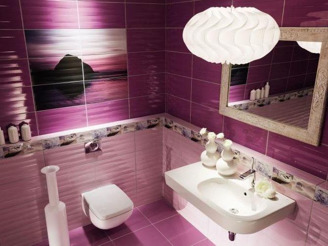 Indoor wall/floor tiles MAXIMA VIOLET & PURPLE by tubadzin