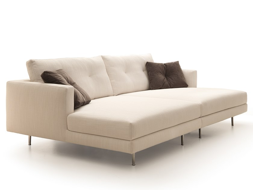 Sectional fabric sofa MAXIME | Sectional sofa by VALENTINI