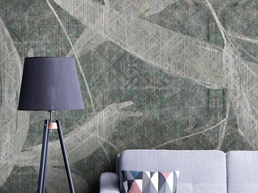 Rubber fire retardant Digital printing wallpaper MAYSE by Tecnografica Italian Wallcoverings