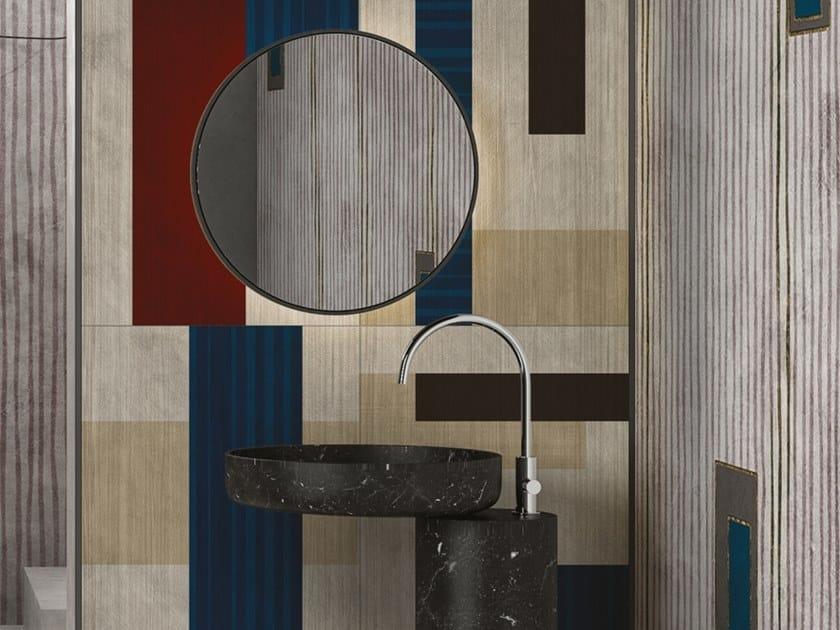 Pannello decorativo in multistrato di betulla MAZE by Inkiostro Bianco