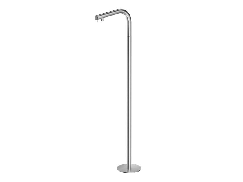 Floor standing stainless steel washbasin mixer MB247 | Washbasin mixer by MGS
