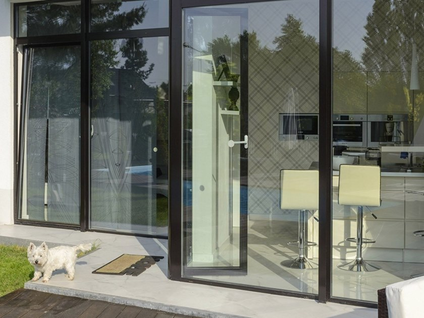 Aluminium window MB-45   Window by Drutex