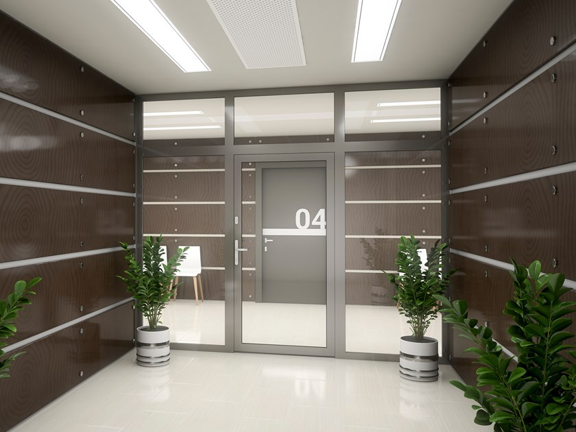 Aluminium entry door MB-45 | Entry door by Drutex