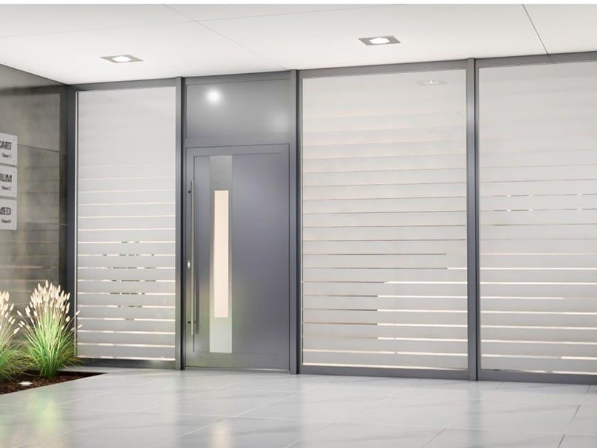 Aluminium entry door MB-70 HI | Entry door by Drutex