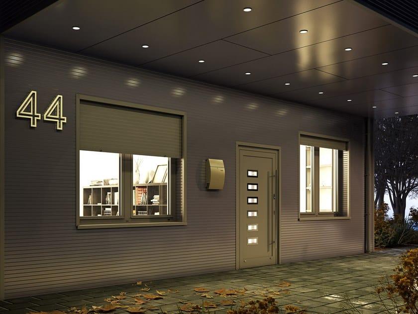 Aluminium window MB-86SI | Window by Drutex