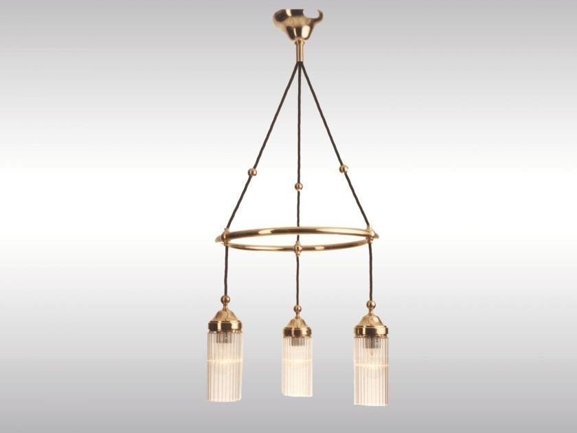 Classic style pendant lamp MB1-3fl by Woka Lamps Vienna