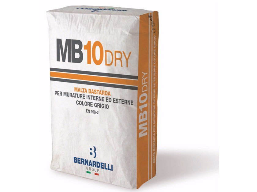 Malta premiscelata a secco MB10DRY by Bernardelli Group