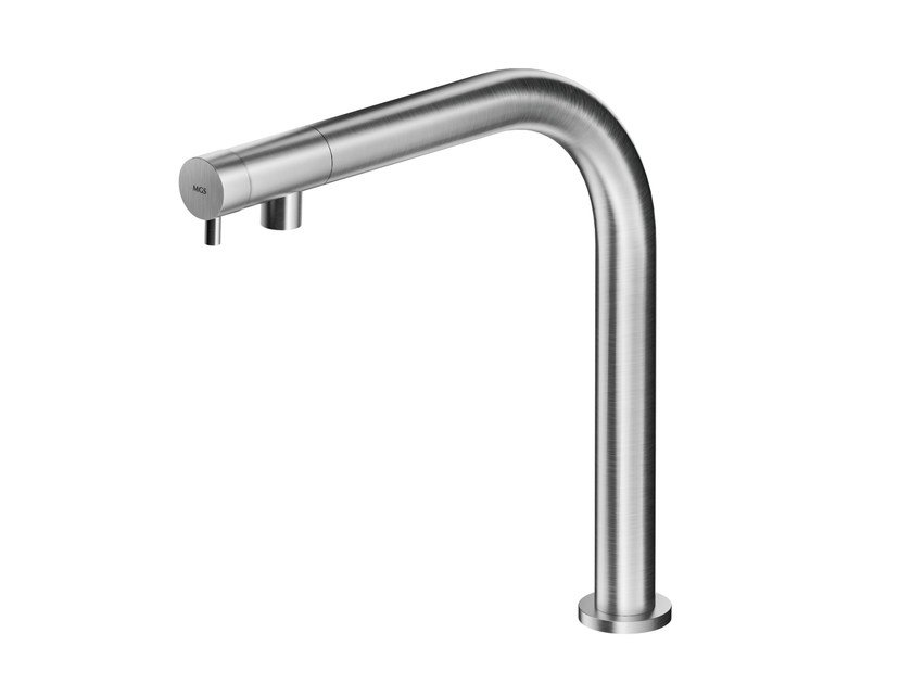 Countertop stainless steel washbasin mixer MB238 | Washbasin mixer by MGS