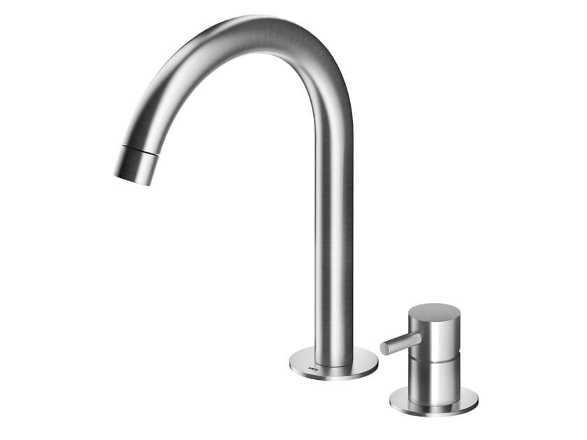 Countertop stainless steel washbasin mixer MB260 | Washbasin mixer by MGS