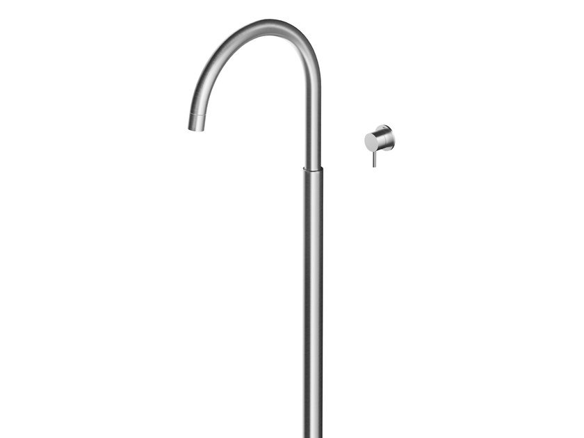 Floor standing stainless steel washbasin mixer MB270 | Washbasin mixer by MGS