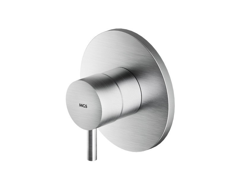 Stainless steel shower mixer MB445 | Shower mixer by MGS