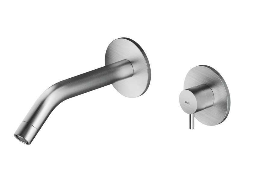 2 hole wall-mounted stainless steel bathtub mixer MB511 | Bathtub mixer by MGS