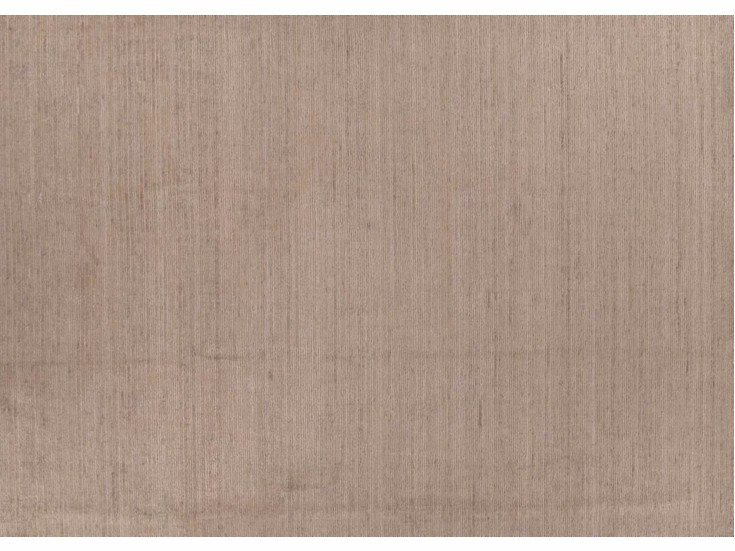 Solid-color rectangular Bamboo silk rug MBH090 | Rug by Mohebban
