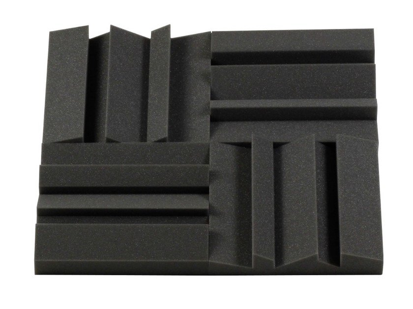 Polyurethane foam decorative acoustical panel MD55 by Vicoustic by Exhibo