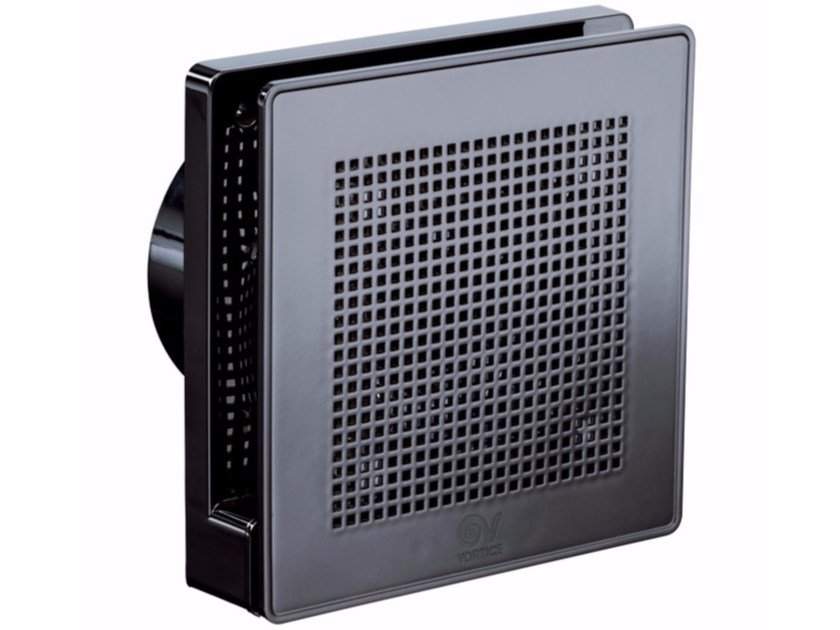 """Helical wall mounted ME 100/4"""" LL BLACK GOLD by Vortice"""