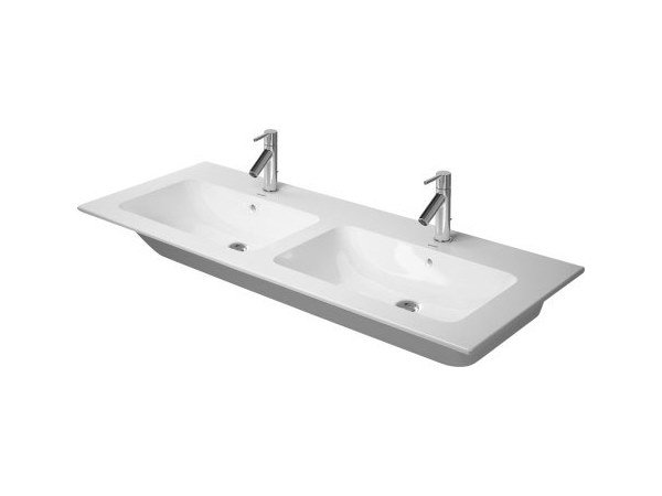 Double washbasin with overflow ME | Double washbasin by Duravit