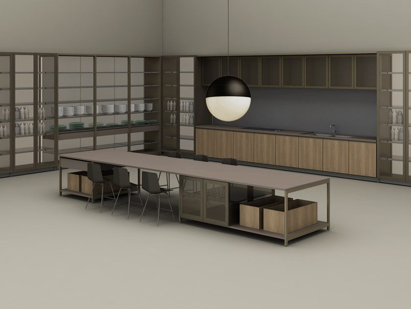 Fitted kitchen MECH by Ornare