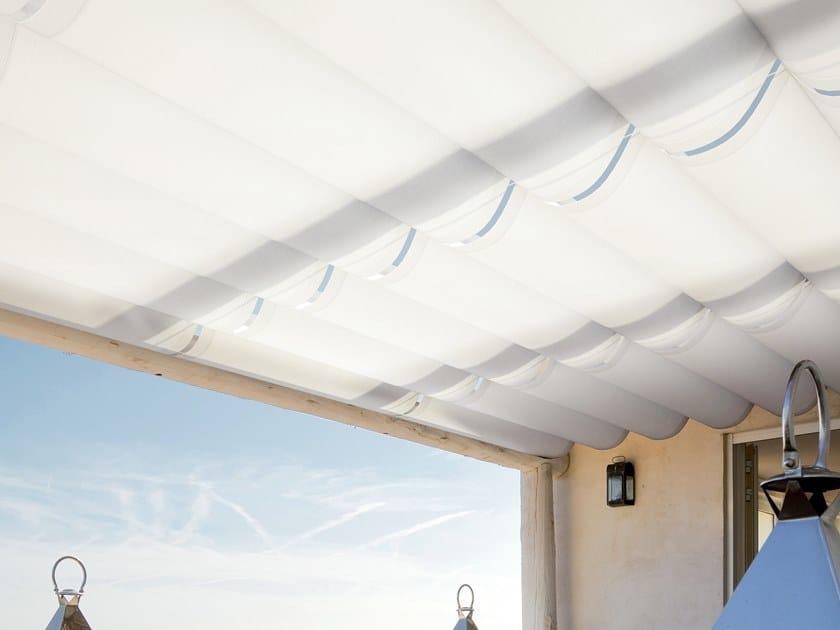 Motorized sliding fabric awning MED GC by GIBUS