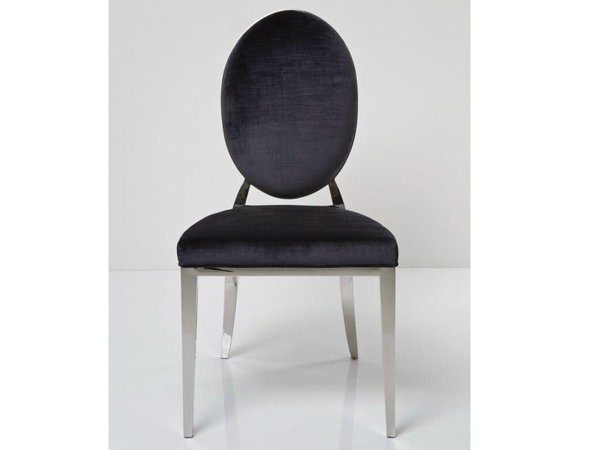 Medallion upholstered fabric chair MEDALLION by KARE-DESIGN