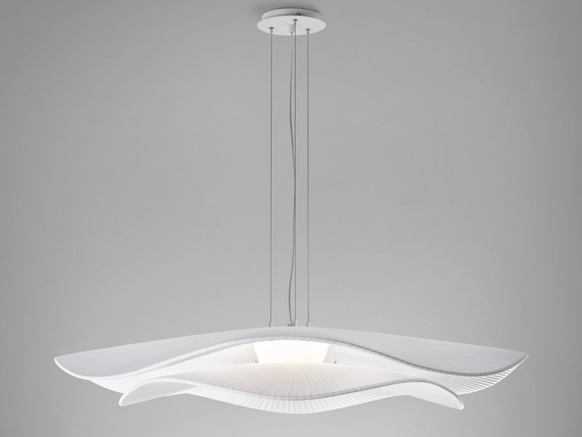 Polycarbonate pendant lamp MEDITERRÀNIA S/105/02 by BOVER