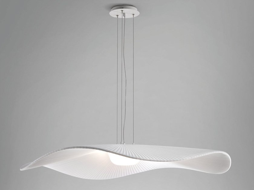 Polycarbonate pendant lamp MEDITERRÀNIA S/105/01 by BOVER