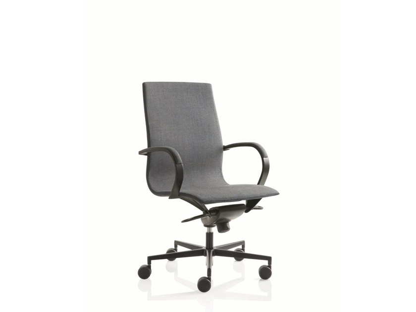Swivel medium back executive chair EM204 | Medium back executive chair by Emmegi