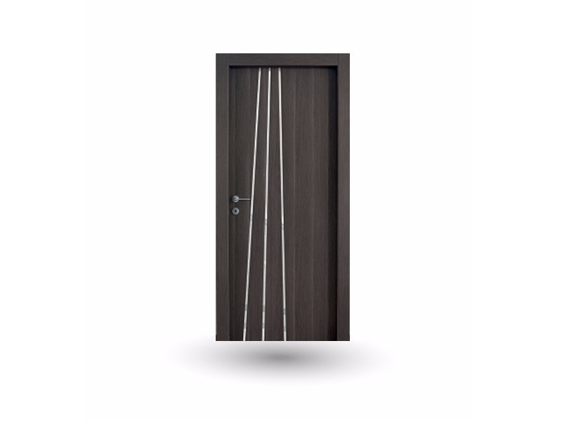 Hinged wooden door MEDUSA M 389 ONICE WITH INSERT by GD DORIGO