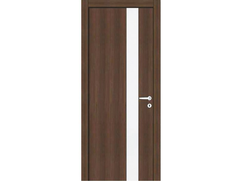 Hinged wooden door MEDUSA M390 RUBINO by GD DORIGO