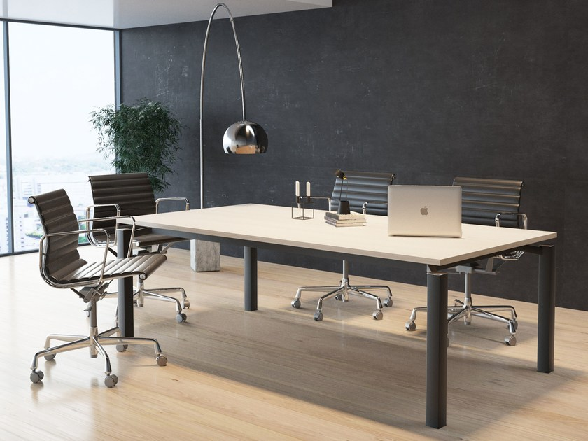Rectangular meeting table FF | Meeting table by BALMA