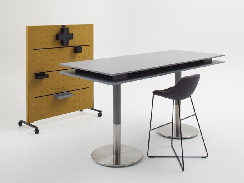 Rectangular meeting table PLUS | Meeting table by BALMA