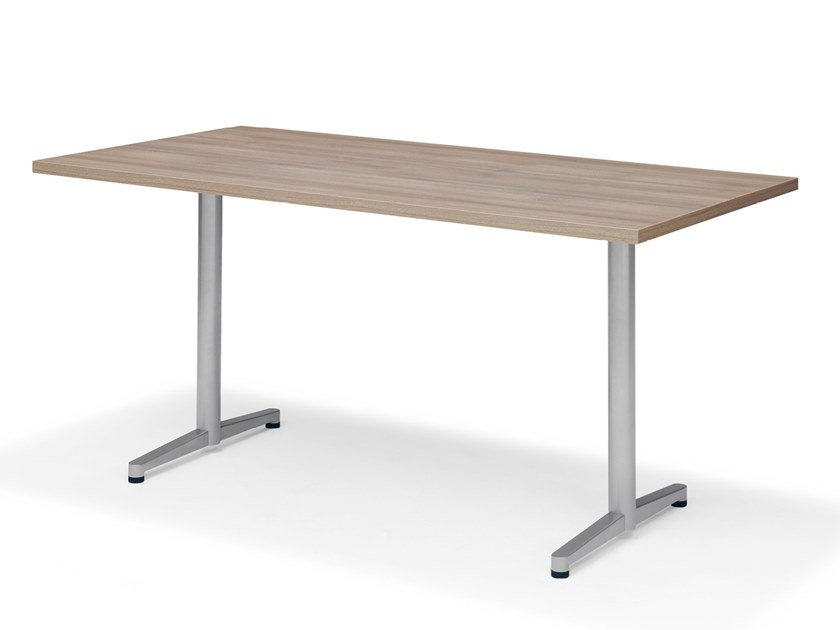 Rectangular meeting table TWIN   Meeting table by Casala